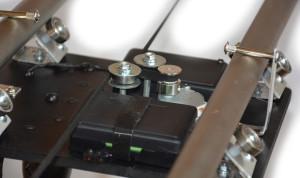 Timelapse slider, motorizovaný, časozberné fotky a vídeo, 3D model