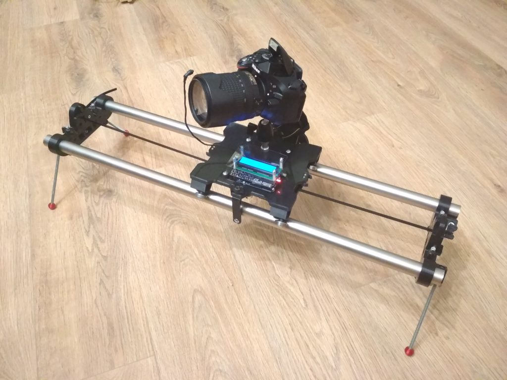 ArduLapse-MAXI-Drive - TimeLapse camera slider & dolly & rail, časozberné vídeo
