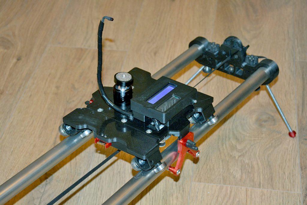 ArduLapse - TimeLapse slider motorizovaný, časozberné vídeo
