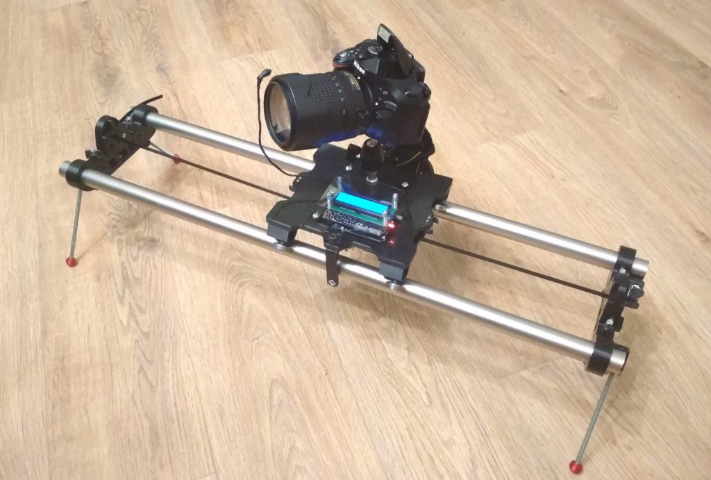 ArduLapse MAXI Drive - TimeLapse camera slider & dolly & rail, časozberné vídeo